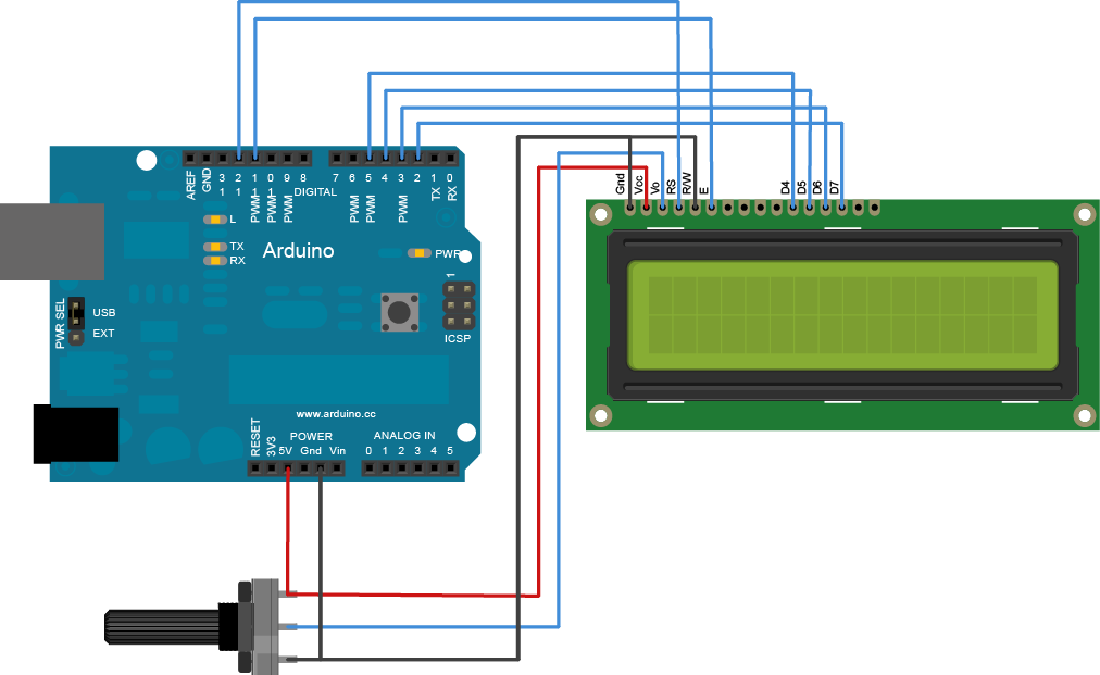 Gestire Display Lcd 20x4 Matrice furthermore 31313 3 2 Quot SPI ILI9325 TFT Touch Screen  patible Library besides Blue Backlight 1602a Lcd Module besides Blog id 185 besides Tutorial 02 For Arduino. on 16 pin lcd display