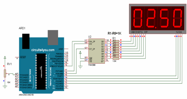 7-Segment-Display-Arduino-Circuit