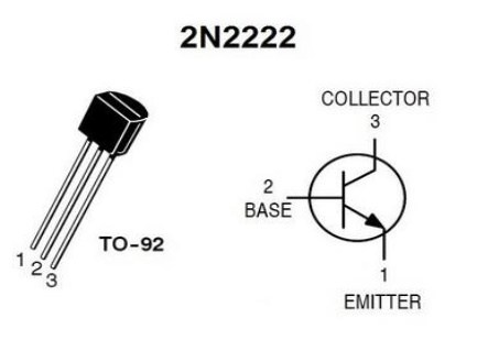 2N222-pin-configuation